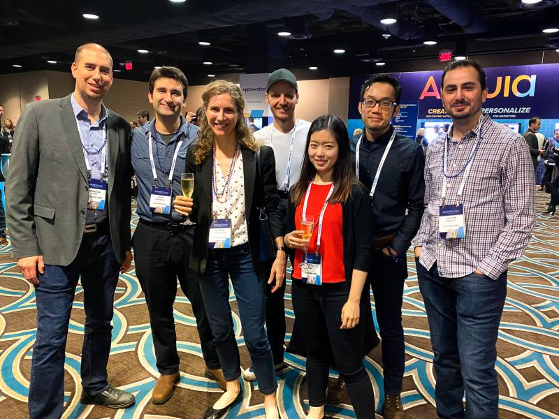 Evolving Web team at Acquia Engage