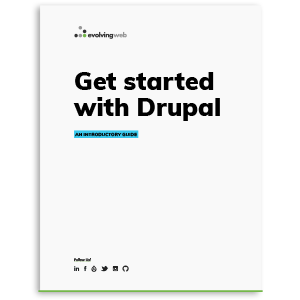get started with drupal guide cover