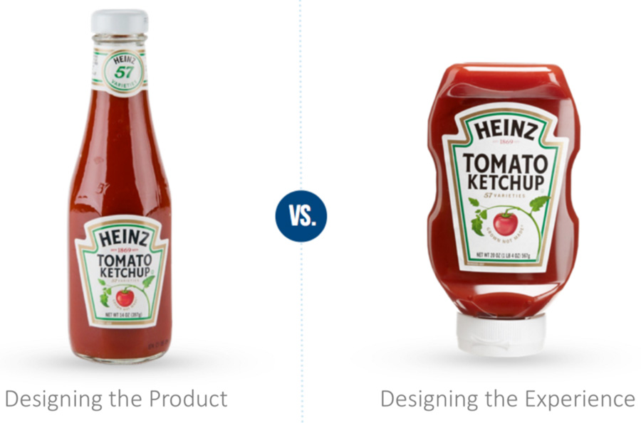 Designing the product vs. designing the experience
