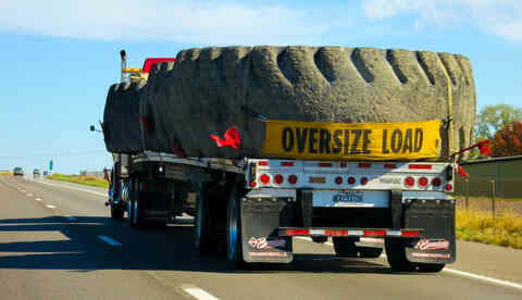 Oversize Load Truck