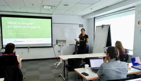 Training at DrupalCamp Montreal