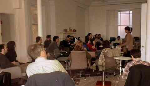 People at Montreal Drupal Meetup