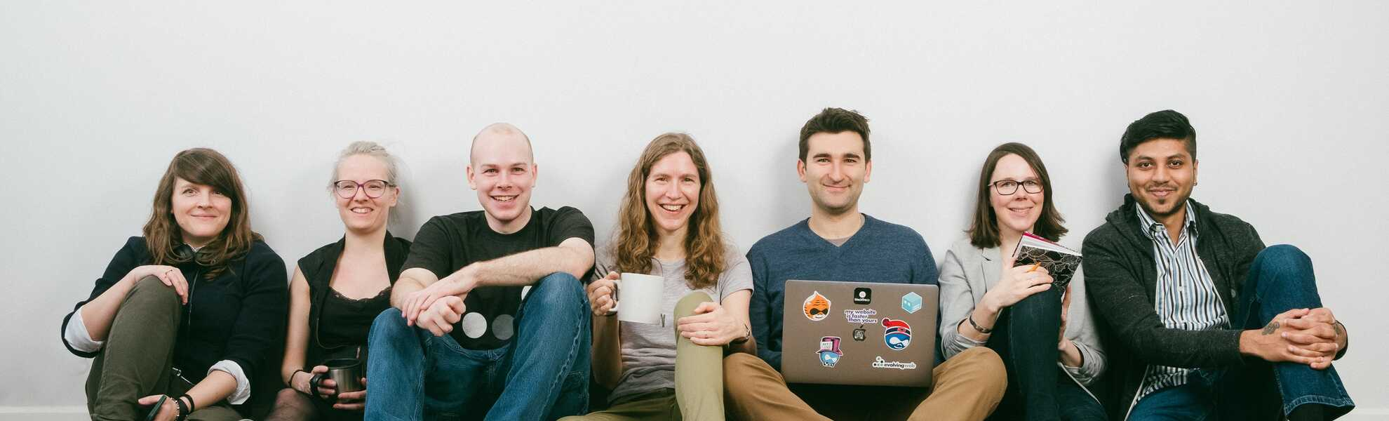 Members of the Evolving Web team