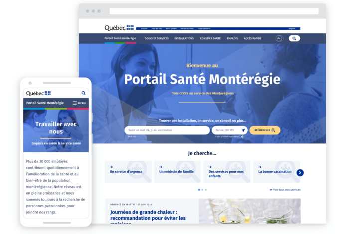 Centralized Health Services Portal