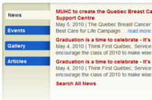 MUHC Search Views